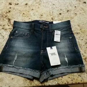 Jeans high rise shorts sz 1/25